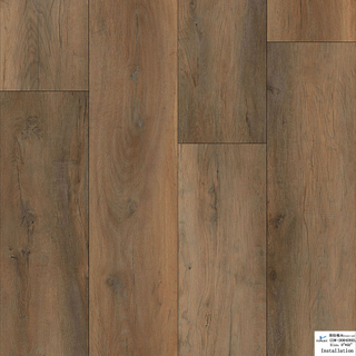 SPC Flooring 1220*180*4.0/5.0mm(customized)(CDW200409EL)