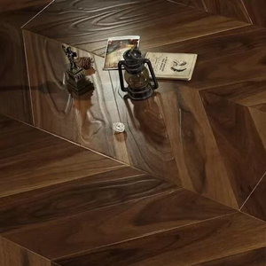 Chevron 1218*301*12mm Laminate Flooring (FL922)