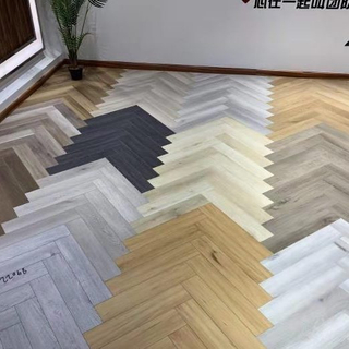 Herringbone SPC Flooring 615*128*4.0/5.0mm(customized)
